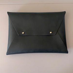 Tribe Alive New Black Envelope Clutch